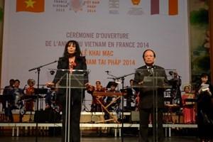 Năm Việt Nam tại Pháp 2014
