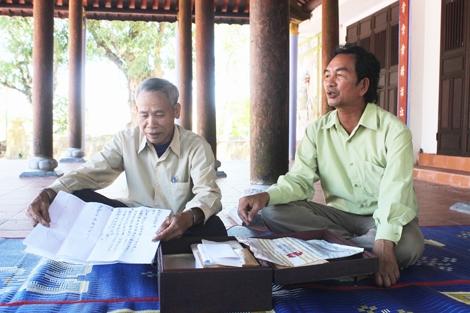 Làng lưu giữ nhiều văn bản Hán - Nôm khẳng định chủ quyền Hoàng Sa
