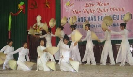 """""""Liên hoan nghệ thuật quần chúng'' huyện Quảng Điền lần thứ V năm 2014."""