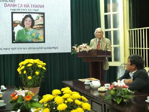 Nhớ ca sĩ Hà Thanh, ngày giỗ đầu