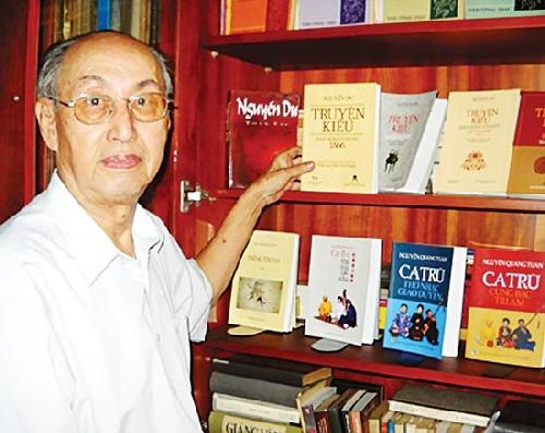 Nhà nghiên cứu Nguyễn Quảng Tuân