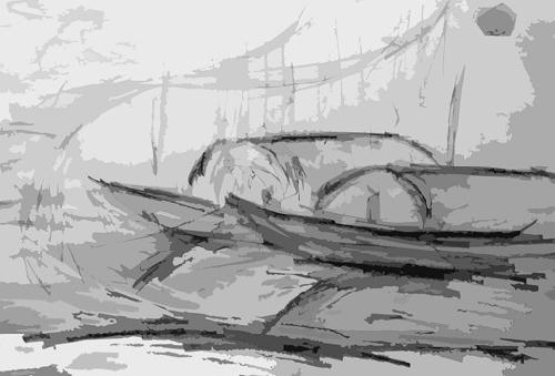 Phận làng soi mặt bên sông