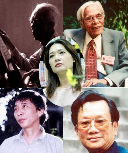 Năm gương mặt văn nghệ tuổi Tuất