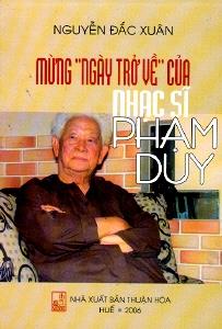 """Nhạc sĩ Phạm Duy """"Biết ái tình ở dòng sông Hương"""""""