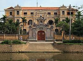 Cung An Định - một công trình kiến trúc nghệ thuật