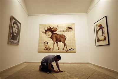 Sự kiện đặc biệt: Cuba tổ chức triển lãm nghệ thuật Mỹ