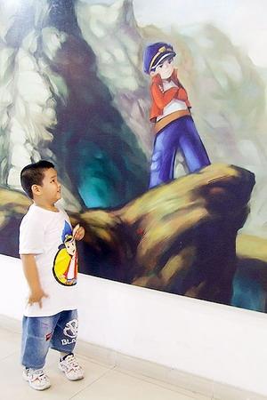 Triển lãm tạo hình nhân vật đầu tiên tại Việt Nam