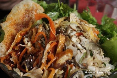 Bún trộn – món ngon nửa chay nửa mặn xứ Huế