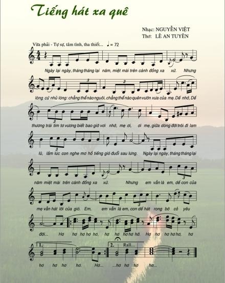 Tiếng hát xa quê
