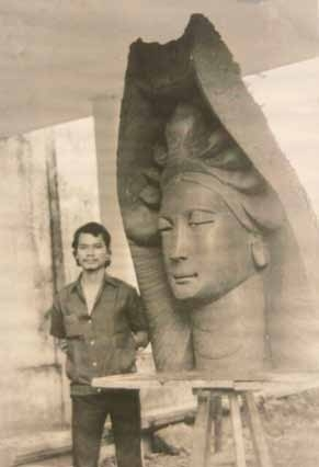 Điêu khắc gia Lê Thành Nhơn - Vũ điệu miền tâm linh