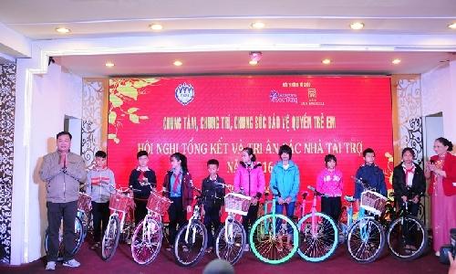 Hội bảo vệ quyền trẻ em tỉnh Thừa Thiên Huế tổng kết hoạt động năm 2016