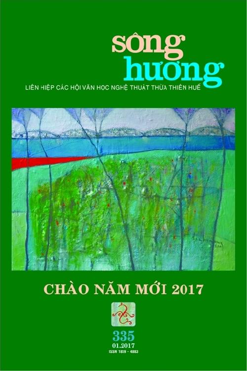 Đón đọc Sông Hương Số Xuân (335) - Tháng 1.2017