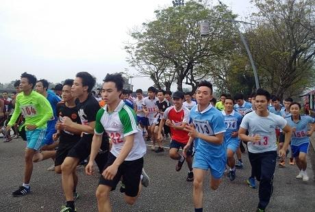 160 vận động viên tham gia giải Việt dã Thành phố Huế 2017