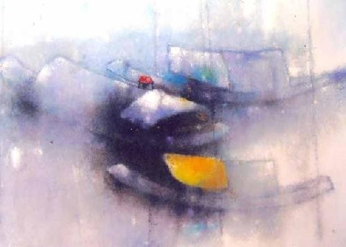Chất thơ mộng trong tranh họa sĩ Nguyễn Văn Tuyên