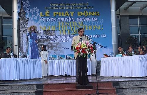 Phát động tuyên truyền, quảng bá Festival nghề truyền thống Huế 2017