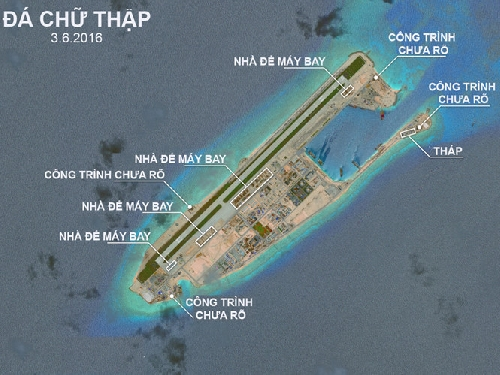 Mỹ có thể xóa sổ đảo nhân tạo ở Biển Đông trong ít phút