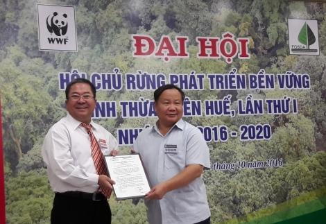 Đại hội đại biểu Hội chủ rừng phát triển bền vững tỉnh Thừa Thiên Huế lần thứ nhất