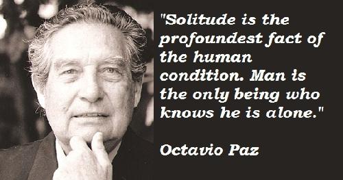 Cô đơn kiểu Octavio Paz