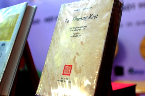 Sách quý về Lý Thường Kiệt được đấu giá hơn bảy triệu đồng