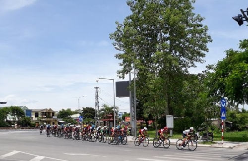 Giải Xe đạp quốc tế VTV - Cúp Tôn Hoa Sen năm 2017 đên Huế