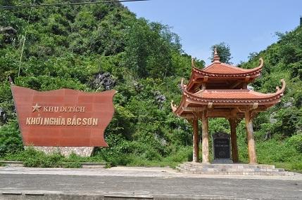 Di tích Khởi nghĩa Bắc Sơn được xếp hạng di tích Quốc gia đặc biệt