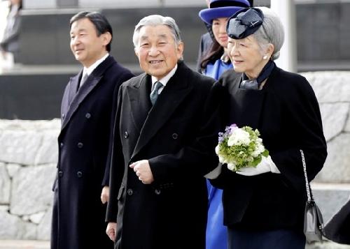 Vẻ uy nghi của Nhà vua Akihito và Hoàng hậu Michiko