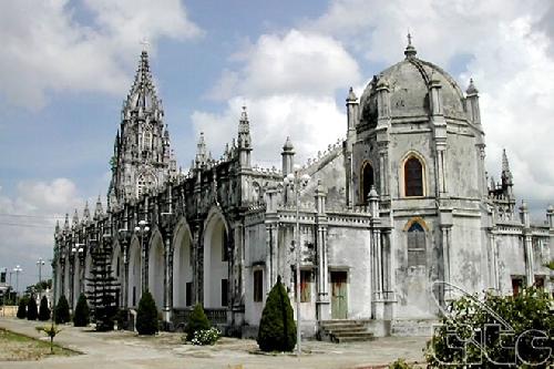 Nhà thờ Trà Cổ - công trình tuyệt tác nghệ thuật vùng Đông Bắc