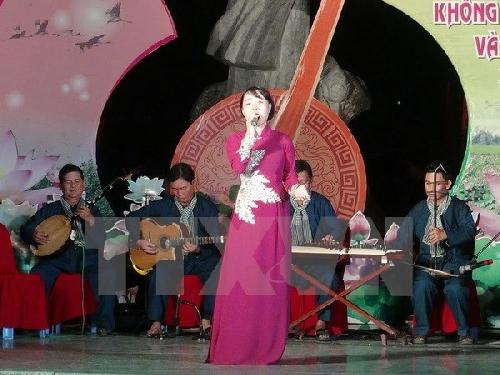 Khai mạc Festival Đờn ca tài tử quốc gia lần thứ 2 Bình Dương 2017
