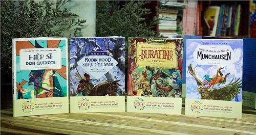 Ra mắt phiên bản mới của 4 tác phẩm văn học kinh điển thế giới