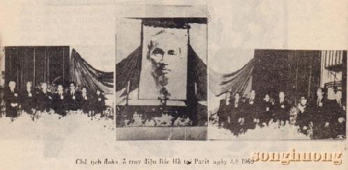 Vài kỷ niệm về lễ truy điệu Bác Hồ ở Paris