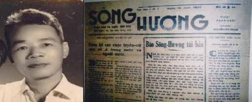 Báo chí Huế đầu thế kỷ XX:  TUẦN BÁO SÔNG HƯƠNG