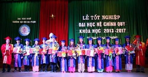 ĐHSP Huế: Trao bằng tốt nghiệp cho 1.374 sinh viên