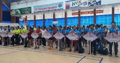 Hơn 185 VĐV tham gia Giải cầu lông CNVC LĐ tỉnh TT-Huế