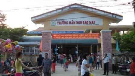 Đầu tư xây dựng công trình Trường mầm non Sao Mai, thị xã Hương Thủy