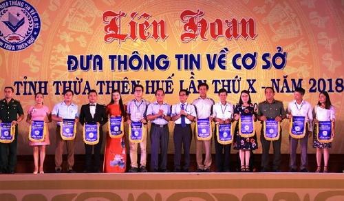 Khai mạc Liên hoan Đưa Thông tin về cơ sở tỉnh Thừa Thiên Huế lần thứ X, năm 2018