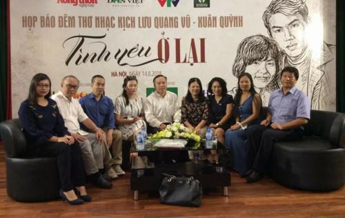 Lưu Quang Vũ - Xuân Quỳnh: Để tình yêu và tài năng ở lại