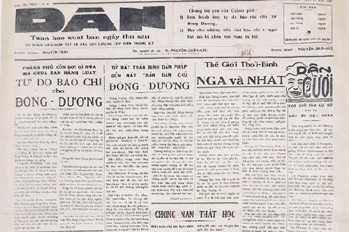 Báo 'Dân' trong dòng chảy báo chí Cách mạng Thừa Thiên Huế và miền Trung