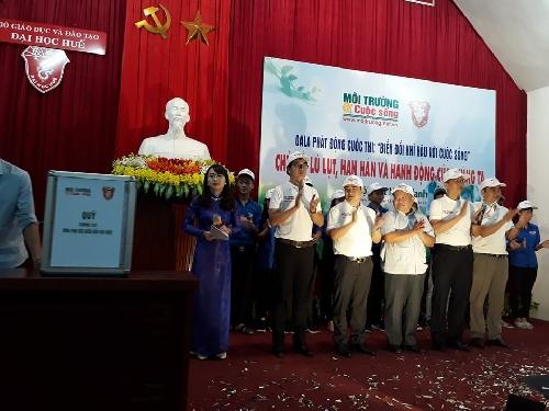 """Phát động Cuộc thi """"Biến đổi khí hậu với cuộc sống"""" tại Huế"""