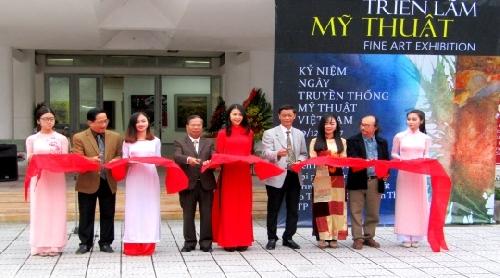 44 tác phẩm tại triển lãm mừng ngày truyền thống Mỹ thuật Việt Nam