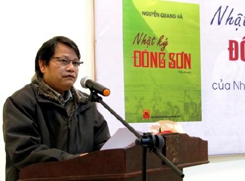 """Giới thiệu Tiểu thuyết """"Nhật ký Đông Sơn"""" của nhà văn Nguyễn Quang Hà."""