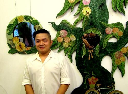 """Triển lãm """"Duyên Bốn Mùa"""" của họa sĩ trẻ Nguyễn Đức Phước"""