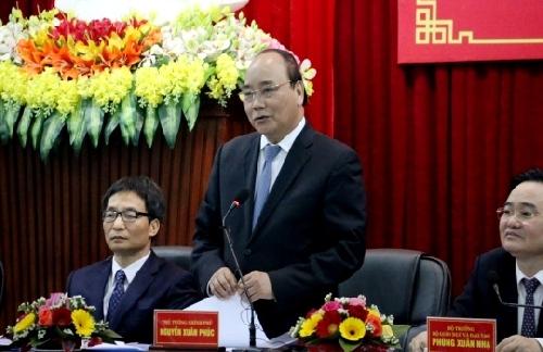 Thủ tướng Chính phủ Nguyễn Xuân Phúc thăm và làm việc với Đại Học Huế