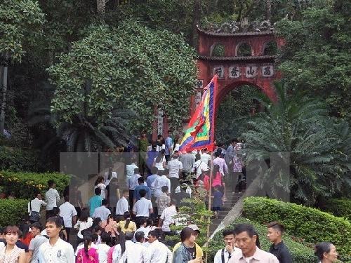 Bốn tỉnh tham gia góp giỗ Tổ Hùng Vương-Lễ hội Đền Hùng năm 2018