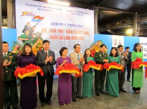 Triển lãm Huế, Xuân 1968- Xuân của Việt Nam- Xuân của lòng dũng cảm.