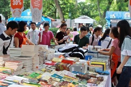 Hội sách mùa Xuân giới thiệu tới độc giả khoảng 40.000 cuốn sách