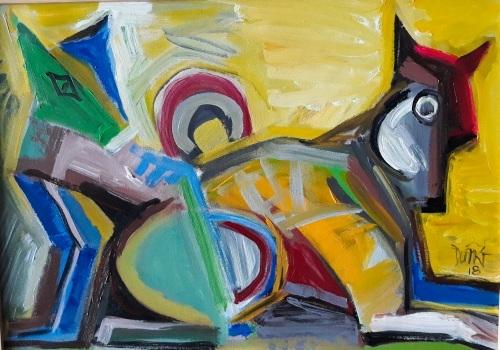 18 họa sĩ đương đại chào xuân Mậu Tuất