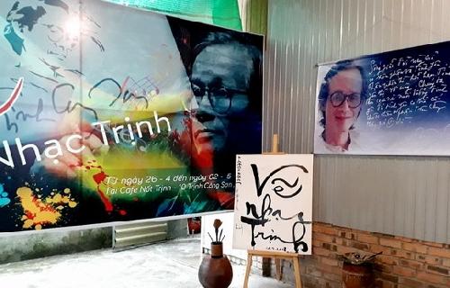Vẽ nhạc Trịnh: Cuộc chơi đầy ý nghĩa.