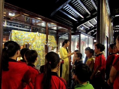 Tìm hiểu di sản văn hóa Cung đình Huế nhân ngày Quốc tế Bảo tàng 18/5/2018