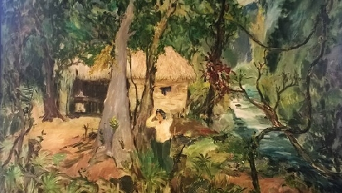 Họa sĩ Phạm Thanh Tâm: Kể lại lịch sử bằng hội họa