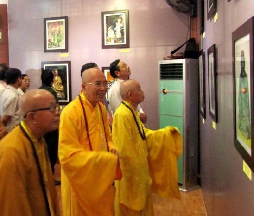 Triển lãm Di sản tượng thờ Phật giáo trong tiếp biến văn hóa ở miền Trung